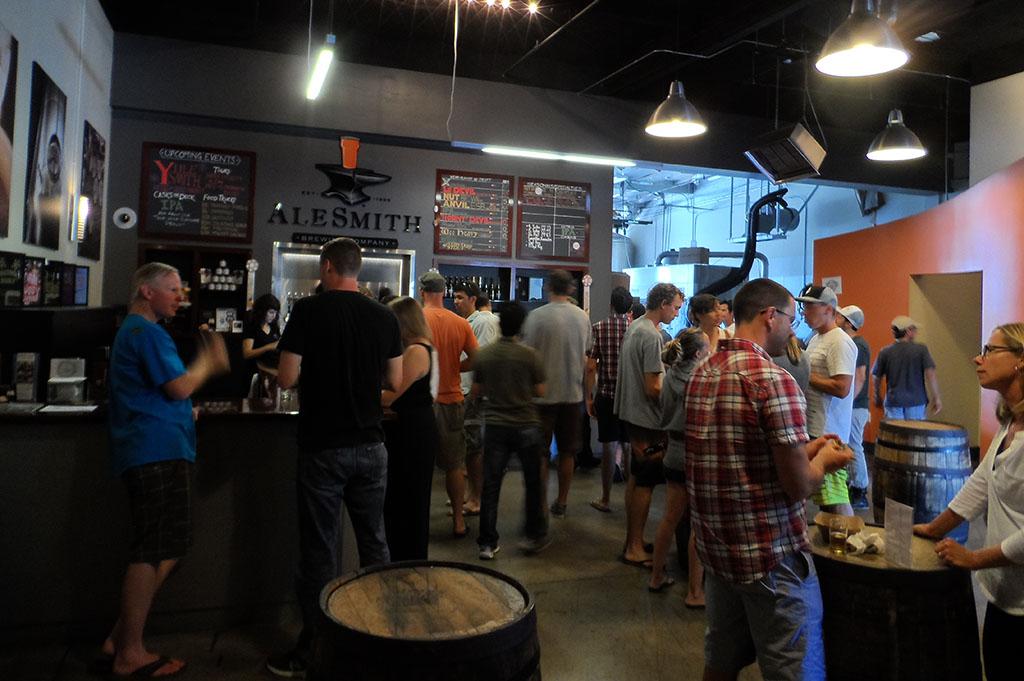 Alesmith Brewing Company Top Cali Craft Beer Good Eats San Diego Mike Puckkett DDM 1