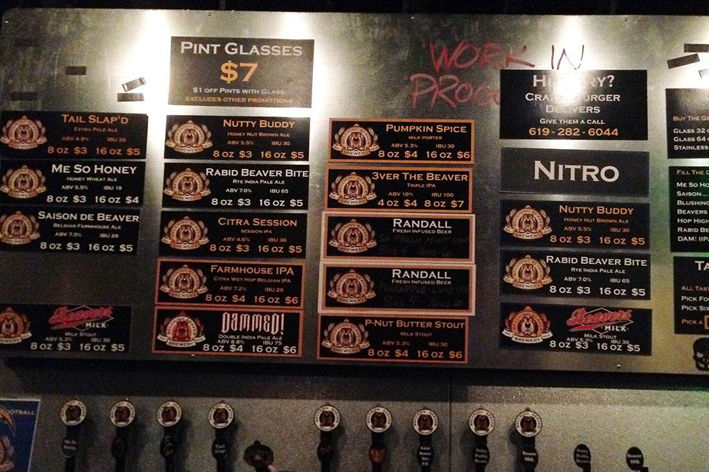 Belching Beaver Brewing North Park Top Cali Craft Beer Good Eats San Diego Mike Puckkett DDM 1
