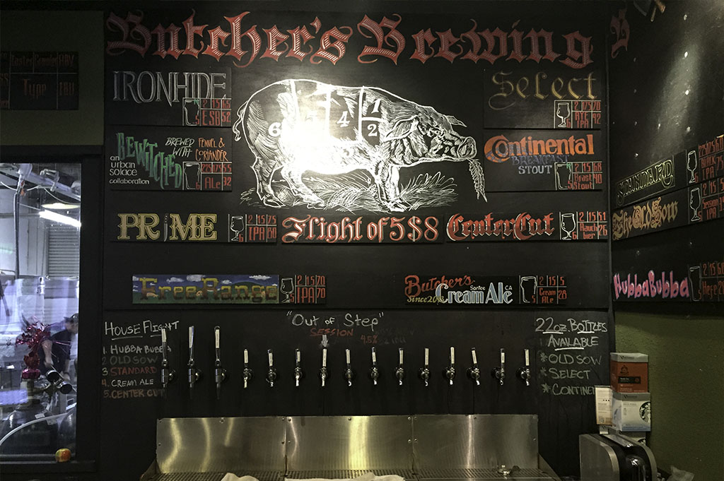 Butchers Brewing Top Cali Craft Beer Good Eats San Diego Mike Puckett Photography 1024 7
