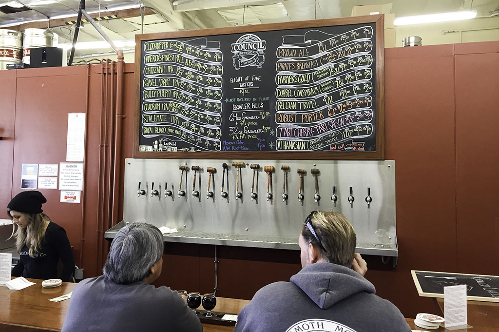 Council Brewing Company Top Cali Craft Beer Good Eats San Diego Mike Puckett Photography 1024 3