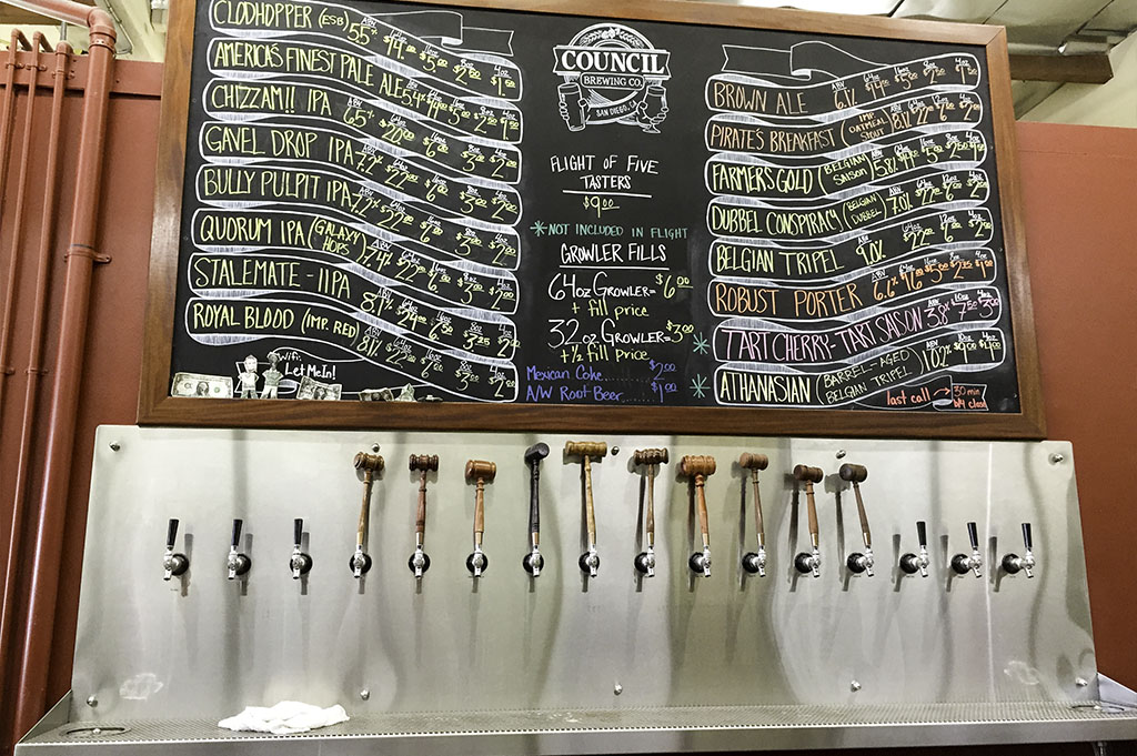Council Brewing Company Top Cali Craft Beer Good Eats San Diego Mike Puckett Photography 1024 6
