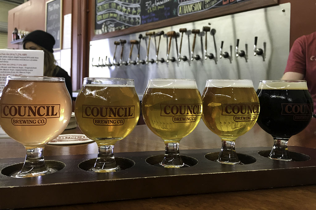 Council Brewing Company Top Cali Craft Beer Good Eats San Diego Mike Puckett Photography 1024 8