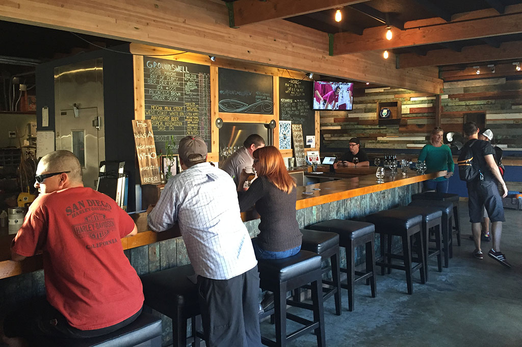 Groundswell Brewing Company Top Cali Craft Beer Good Eats San Diego Mike Puckkett DDM 1
