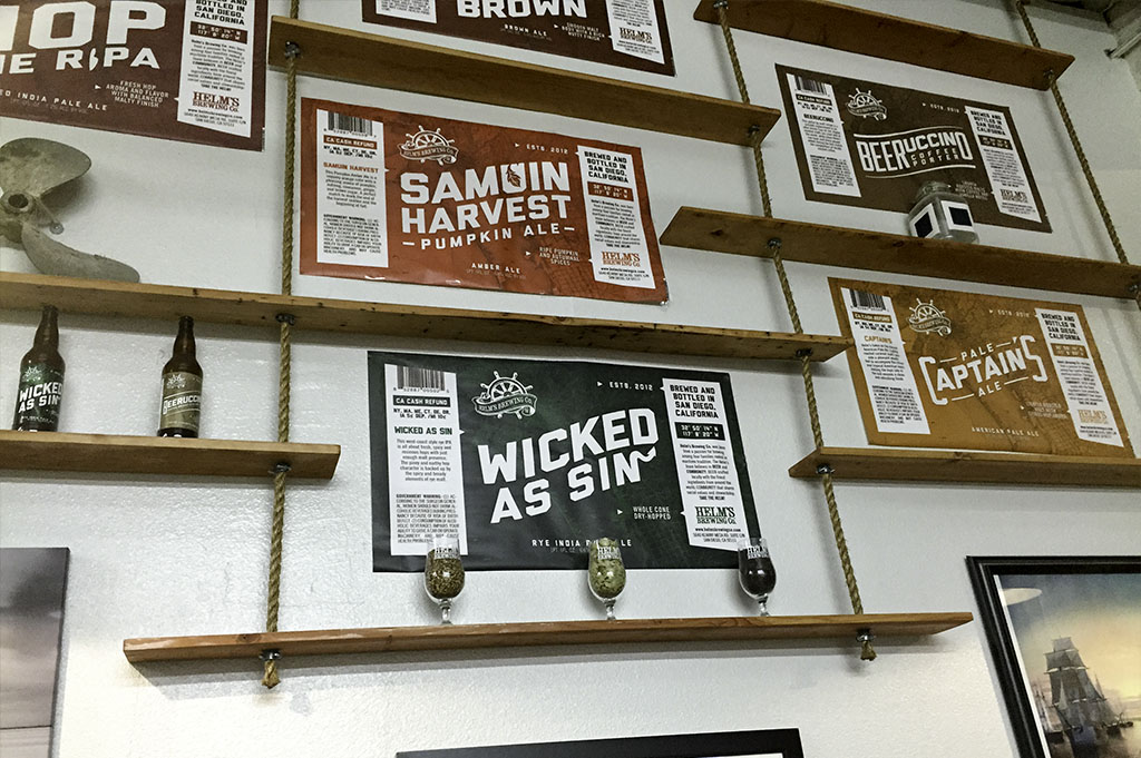 Helms Brewing Company Top Cali Craft Beer Good Eats San Diego Mike Puckett Photography 1024 5