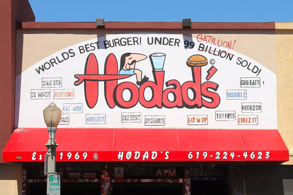 Hodad's O.B. 2 San Diego 250 Good Eats Local Mike Puckett DDM