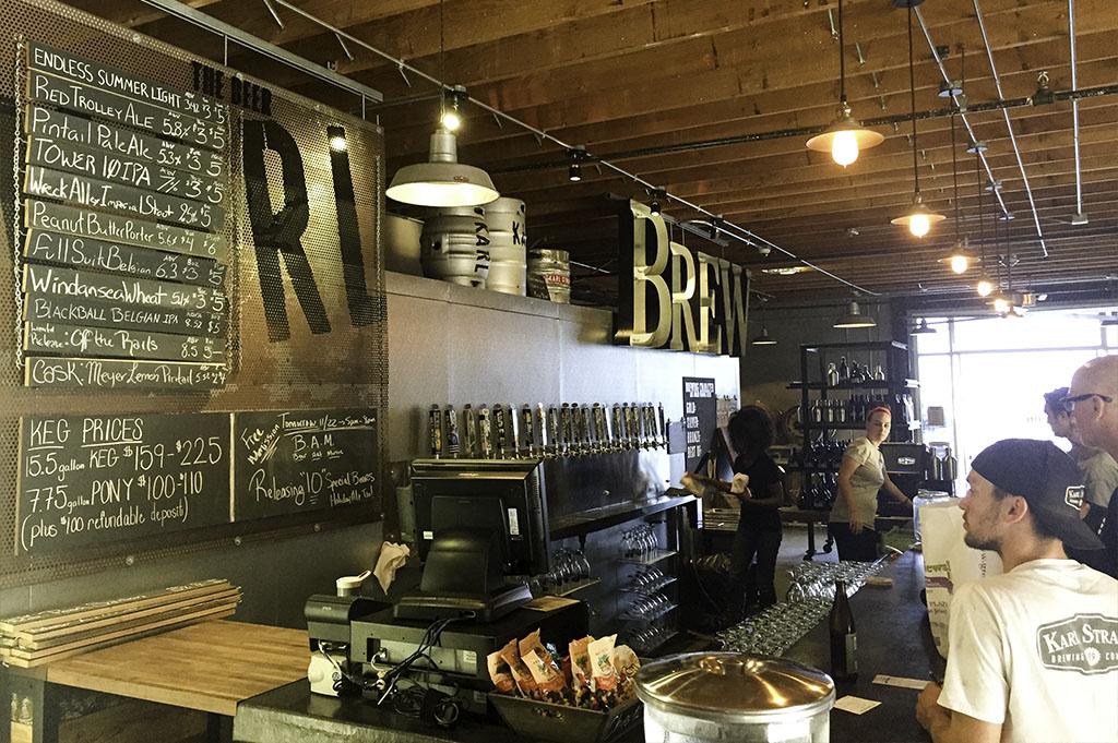 Karl Strauss Tasting Room Good Eats San Diego Mike Puckett Photography 1024 4