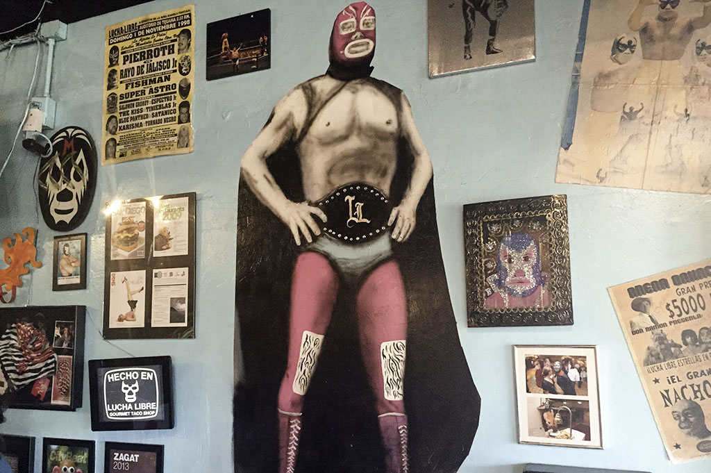Lucha Libre Taco Shop Good Eats San Diego Good Eats Local Mike Puckett DDM 1