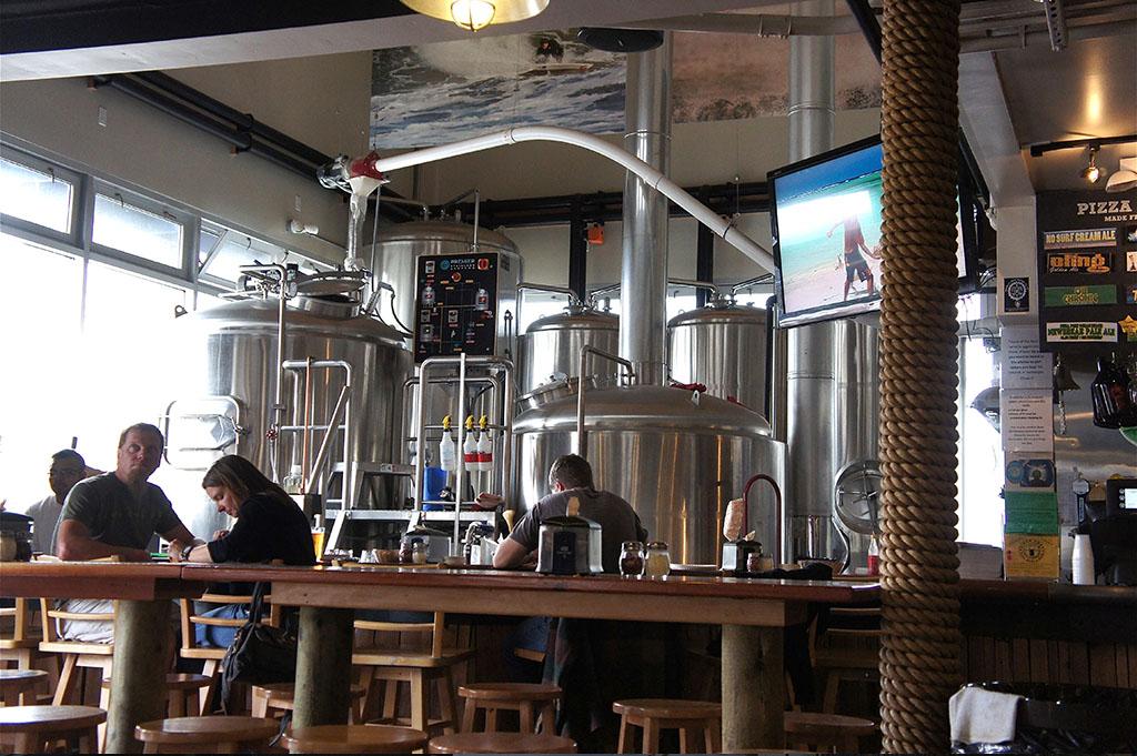 Pizza Port Brewing Company Ocean Beach Top Cali Craft Beer Good Eats San Diego Mike Puckkett DDM 1
