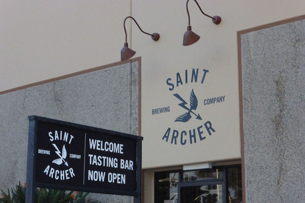 Saint Archer Brewing Company Top Cali Craft Beer Good Eats San Diego Mike Puckkett DDM 1