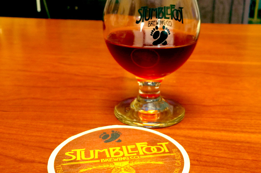 Stumblefoot Brewing Company Top Cali Craft Beer Good Eats San Diego Mike Puckkett DDM 1